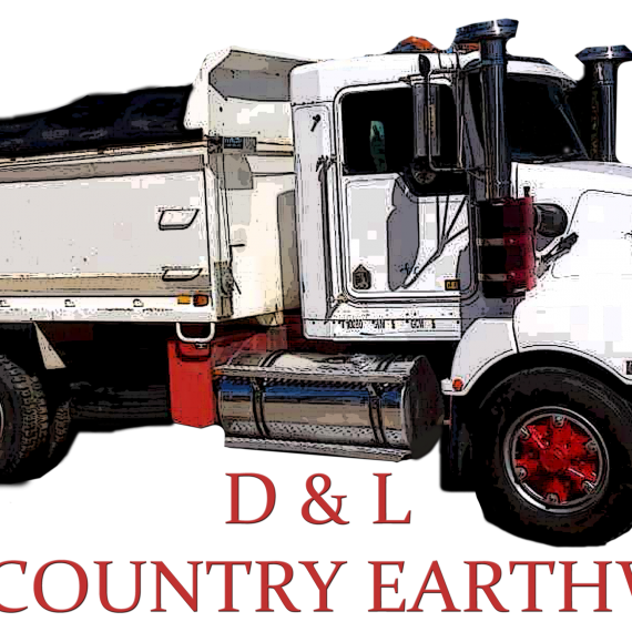 D & L HIGH COUNTRY EARTHWORKS LOGO PNG
